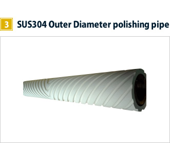 3, SUS304 Outer Diameter polishing pipe